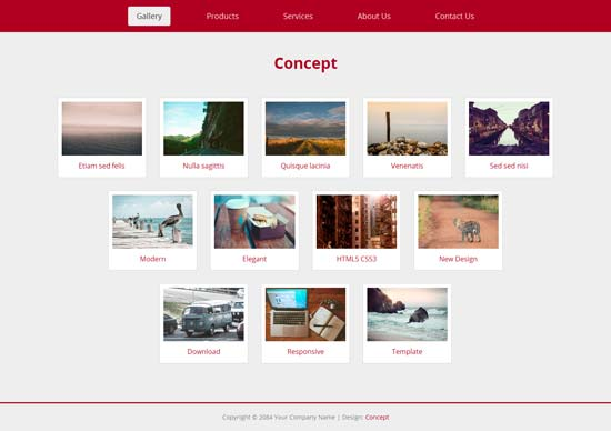 Concept-Free-Responsive-Template