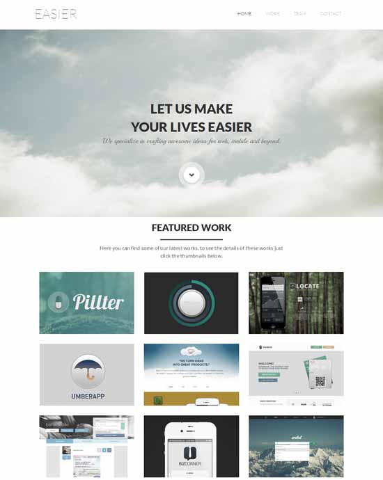 Easier-free-Flat-Bootstrap-Responsive--template