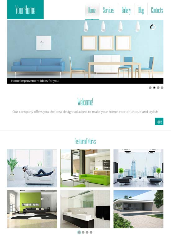 Free-HTML5-Theme-for-Interior-Site