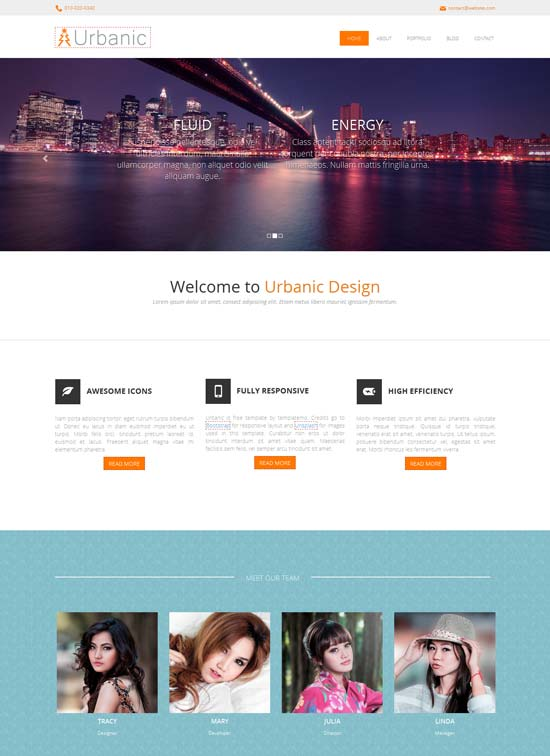 Urbanic-Free-responsive-template-using-Bootstrap